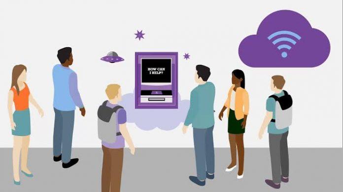 Talking ATM