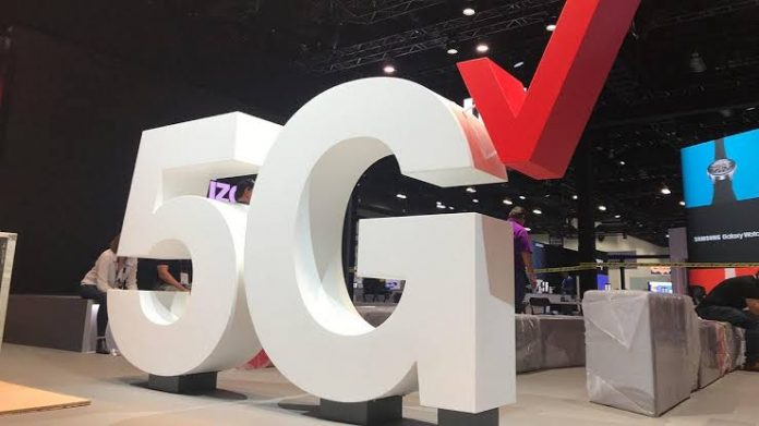 5G internet: Verizon
