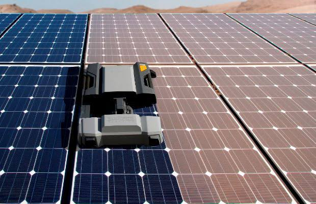 Robotic solar