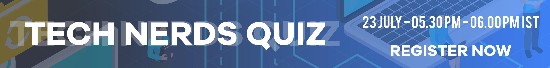 Tech Nerds quiz website banner 01
