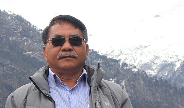 Shri Wangki Lowang, Minister (IT) of Arunachal Pradesh