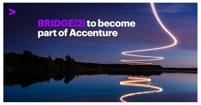 Artificial intelligence firm BRIDGEi2i acquired by Accenture